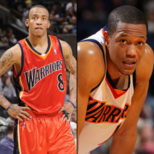 Monta Ellis and Anthony Randolph